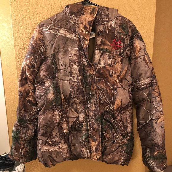 98e5934aa9de1 Realtree Jackets & Coats | Real Tree Camo Puffer Jacket | Poshmark